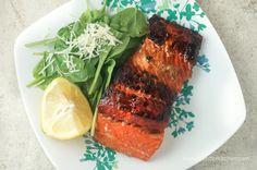 Healthy Brown Sugar Salmon | Slender Kitchen