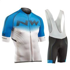 2018 New NW Cycling Jersey Short Sleeve Summer Breathable bib shorts  Bicycle Clothes Quick Dry Roupa Ciclismo Maillot 073705403