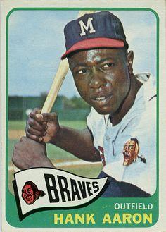 1965 Topps Hank Aaron