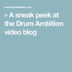 Online drum lessons with Professional Drummer and Educator Simon DasGupta Drum Lessons, Ambition, Drums, Education, Blog, Drum Sets, Educational Illustrations, Learning, Drum