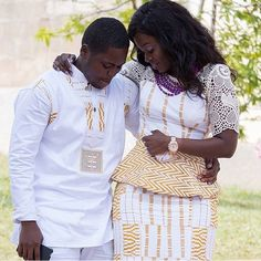 ❤️Congrats Roberta and Kwesi. Photo by @holisonconcept makeup by @bellefleur_gh #weloveghanaweddings