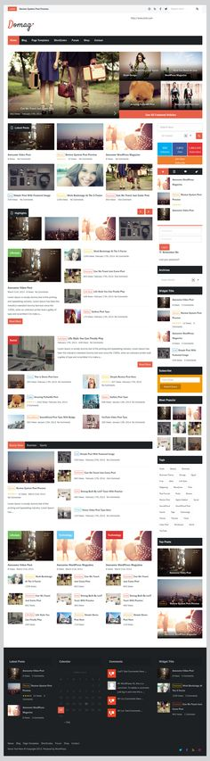 Domag from ThemeForest - a awesome wordpress theme.
