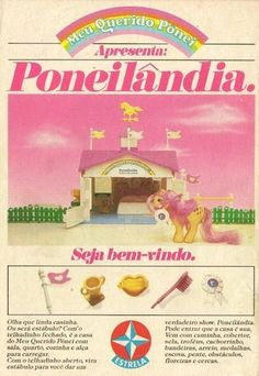 Poneilândia #nostalgia