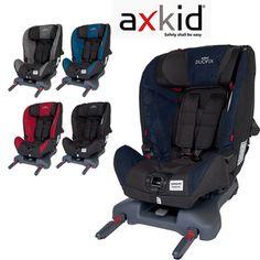 Fotelik samochodowy Duofix Axkid 9-25 kg