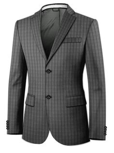 Looking to get fine customized 3 piece suits? Shop the full range of amazing three piece suits at iTailor Today! Three Piece Suit, 3 Piece Suits, Dressing Your Body Type, Extraordinary Gentlemen, Dark Gray Suit, Professional Attire, Mens Suits, Suit Jacket, Mens Fashion