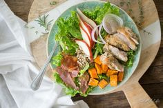 Fall Chop Salad with