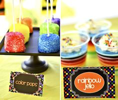 Crayon birthday | Colorful Crayon Themed Birthday Party // Hostess with the Mostess®
