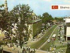 80 lerin Bursası Ulucami yanındaki üst geçit