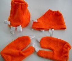 Hynek's Handmade: Buddy the T-Rex Halloween Costume - great mittens for Dinosaur party?