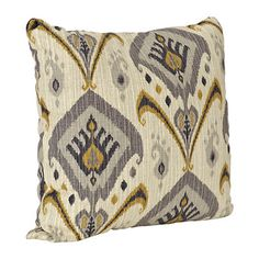 2 ON LIVING ROOM SOFA Gray Mambo Pillow   Kirklands