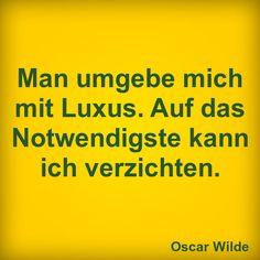 Luxus!