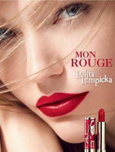 Red Lips – Russian model Sasha Pivovarova fronts the very first lipstick range from French perfume and fashion brand Lolita Lempicka, called Mon Rouge. Sasha Pivovarova, Lolita Lempicka, Beauty Ad, Beauty Shoot, Beauty Makeup, Hair Beauty, Blonde Beauty, Beauty Hacks, Makeup Ads