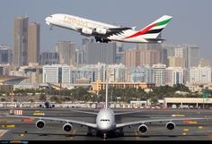 A380 - on the ground, and in the air.