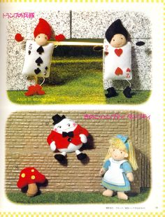 Out-of-print Felt Characters from Fairy Tales от MeMeCraftwork