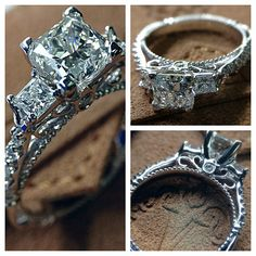 Parisian-124P with the three-diamond styling and @Verragio signature detail work.   Learn more> http://www.verragio.com