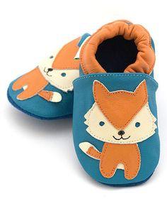 Look at this #zulilyfind! Blue Fox Leather Booties #zulilyfinds