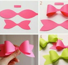 Easy Paper Bow DIY