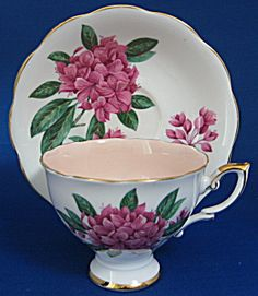Cup And Saucer Signed F F Errill Rosamund Royal Standard. Click the image for more information.