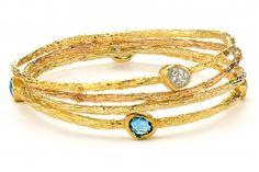 Bracelet by master goldsmith Sami Zeira of Zeira Jewelry