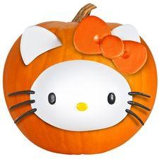 Pumpkin Push-In Kit - Hello Kitty