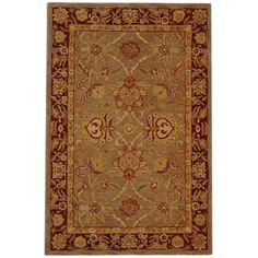 Safavieh Anatolia Grey and Red 9 ft. 6 in. x 13 ft. 6 in. Area Rug-AN529A-10 at The Home Depot