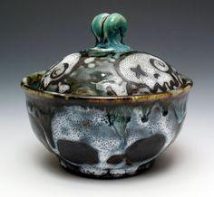 Skull Lover's Sugar Bowl by nicolepangas