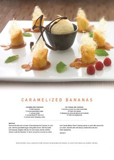 Here is the perfect #recipe for Mother's Day. Caramelized Bananas for her special day!