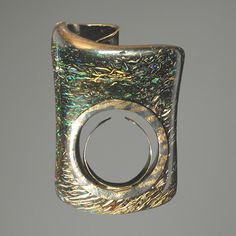Ring |  AQA Contemporary Opal Designs. Boulder Opal  and 18k gold
