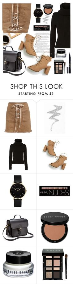 """""""February - LOVE"""" by aleksandra985 ❤ liked on Polyvore featuring NYX, Exclusive for Intermix, CLUSE, Charlotte Russe, The Cambridge Satchel Company, Bobbi Brown Cosmetics, Stila and february"""
