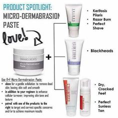 I'm always amazed at how great my skin feels after using the Rodan + Fields Microdermabrasion Paste! Your skin needs exfoliation to increase cell regeneration. Need to get your skin summer ready? Use it to get rid of razor burn and blackheads. Use it to get those feet flip flop ready. Use it to exfoliate before applying sunless tanners. So many uses for this amazing product!