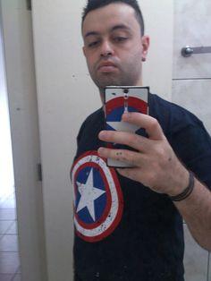 Camiseta Capitão América :)