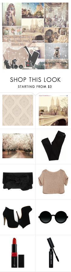 """Not In That Way"" by jazzy-jessi ❤ liked on Polyvore featuring Graham & Brown, WALL, American Eagle Outfitters, Pretty Ballerinas, Moscot, Bobbi Brown Cosmetics and Tiffany & Co."