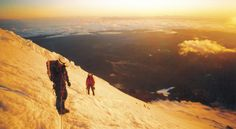 Real mountaineering lessons + ascent of Mt. Ranier in just 4 days.