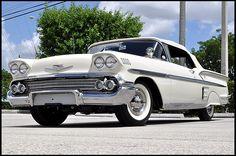 1958 Chevrolet #Impala Convertible 283/230 HP, Automatic #MecumDallas
