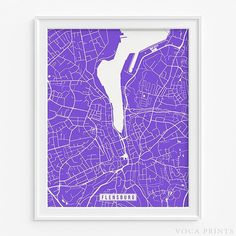 Flensburg, Germany Street Map Wall Art Poster. Starting at $9.90 with 42 color choices. Click Photo for More Info - #streetmap#map#christmasgifts#wallart #Flensburg #Germany