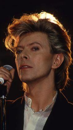 David Bowie, en 1987