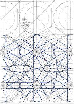 Bou070 #islamicdesign #islamicgeometry #islamicart #handmade #star #tessellation #tiling #wallpaper #mathart #regolo54 #geometry #Escher