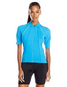 Gore Bike Wear Womens Phantom Summer Lady Jersey Waterfall BlueWhite Medium  -- Check out the e0111c5fc