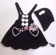 Naphthalene Los Missy ◇ Yumetenbo 1:1 customized sweet bow rabbit ears hooded detachable strap dress - Taobao