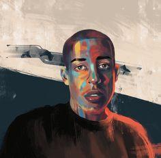 Realistic Portrait Art   Fiverr Discover
