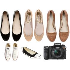 photographer's shoes