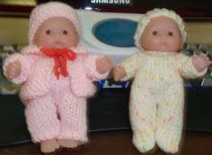 5-inch  ITTY BITTY BABY DOLL KNITTING PATTERN