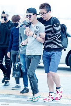 Sehun - 140912 Incheon Airport, departing for Bangkok Credit: Merry Peal. (인천공항 출국)