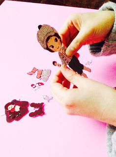 momoko DOLL as Paper Doll③