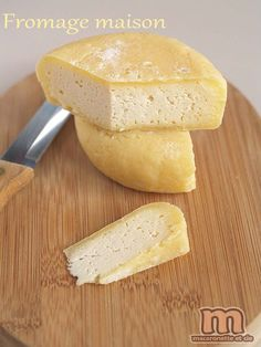 Fromage maison – Macaronette et cie- Marcelle Paygnard No Dairy Recipes, Milk Recipes, Cheese Recipes, Cooking Recipes, Making Cheese At Home, How To Make Cheese, Snacks To Make, Easy Snacks, Soup Appetizers