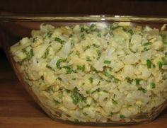 Sałatka kalafiorowo-czosnkowa do grilla