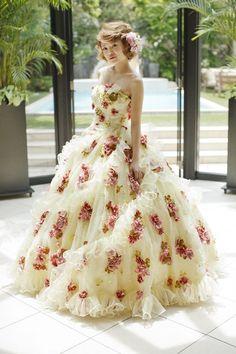|THE HANYドレス|岐阜・名古屋の貸衣裳・ドレスレンタル ウェディングプラザ二幸