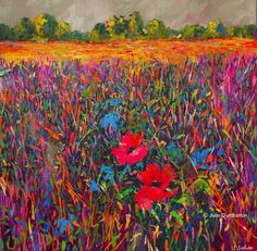 'Two Poppies' Julie Dumbarton