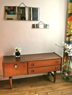 Objects on pinterest 109 pins - Console vintage scandinave ...