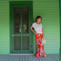 Paso Robles Silk Skirt #Anthropologie #MyAnthroPhoto